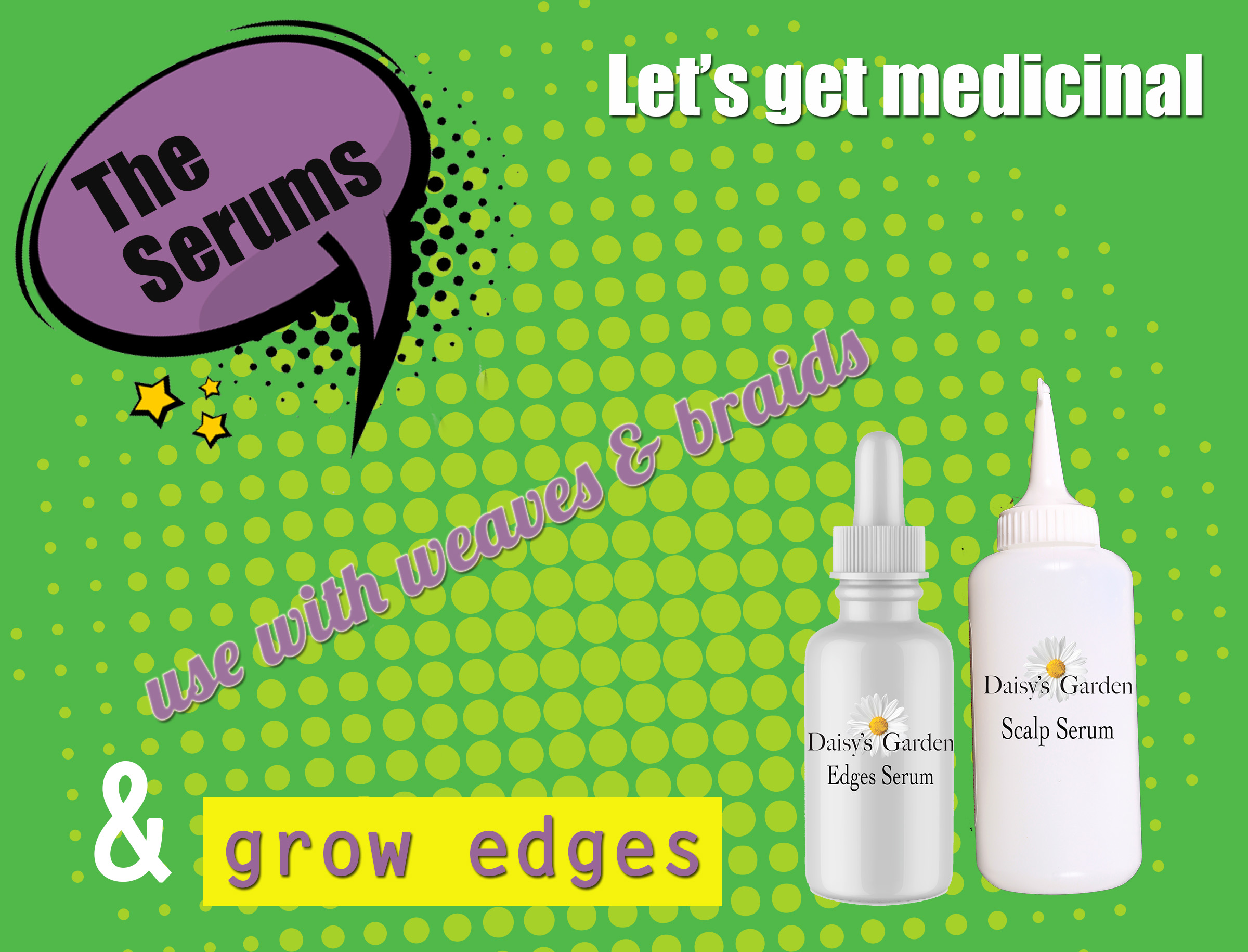 daisys garden the serums
